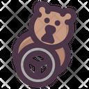 Groundhog Feeding Icon