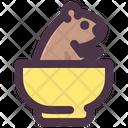Groundhog Day Groundhog In Bowl Bowl Icon