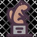 Groundhog On Hat Icon