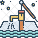 Groundwater Aquifers Water Cycle Nature Icon