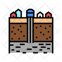 Groundwater Extraction Color Icon