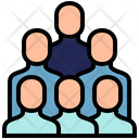 Group People Located Icon