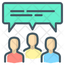 Social Group People Team Icon