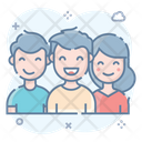 Collaboration Colleagues Communication Icon