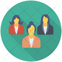 Group Team Management Icon