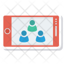 Group Mobile Vertical Icon