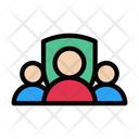 Group Team Security Icon