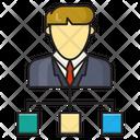Group Network Organization Icon