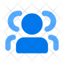 Group Team Users Icon