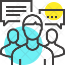 Group Chat Communication Icon