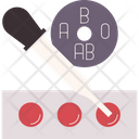 Group Blood Test Icon
