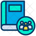 Group Book Icon