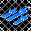 Group Class Isometric Icon