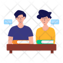 Combine Study Group Study Group Class Icon