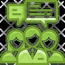 Communication Bubble Chat Icon