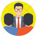 Group People Discussion Icon