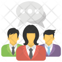 Collaboration Communication Colleagues Icon