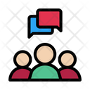 Group Discussion Conference Icon
