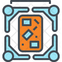 Group Brainstorming Discussion Icon