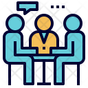 Group Discussion Meeting Icon
