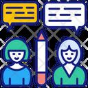 Group Education Collaborative Combine Icon