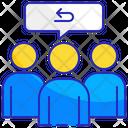 Group feedback Icon