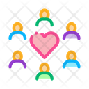 Group Love Icon