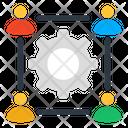 Team Management Team Setting Team Development Icon