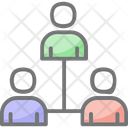 Group Network Team Network Group Connection Icon