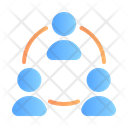 Group Networking Icon