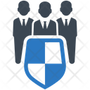 Employee Protection Security Icon