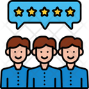 Itestimonials Group Rating Team Rating Icon