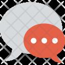 Group Talk Speech Icon