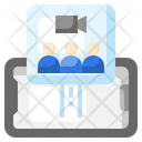 Group Video Call Icon