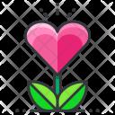Grow love Icon