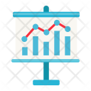 Growing Graph Chart Icon