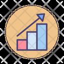 Growing Data Data Growing Icon