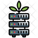 Data Growing Growing Data Icon