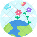 Growing Plants Grow Plants Icon
