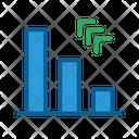 Finance Technologies Growth Chart Icon