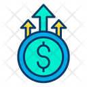 Grown dollar Icon