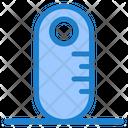 Grownup Ruler Audiometer Icon