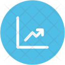 Growth Up Key Icon