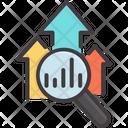 Growth Arrow Success Icon