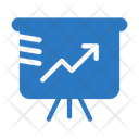 Growth Graph Board Icon