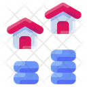 Growth Home House Icon