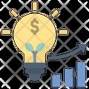 Growth Idea Business Icon