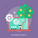 Growth Business Tree Icon