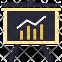 Growth Finance Bar Icon
