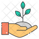 Growth Raise Sprout Icon